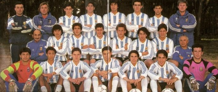 Resultado de imagen para argentina sub 17 1991