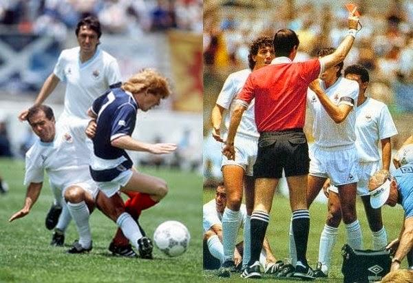 Image result for uruguay escocia 1986