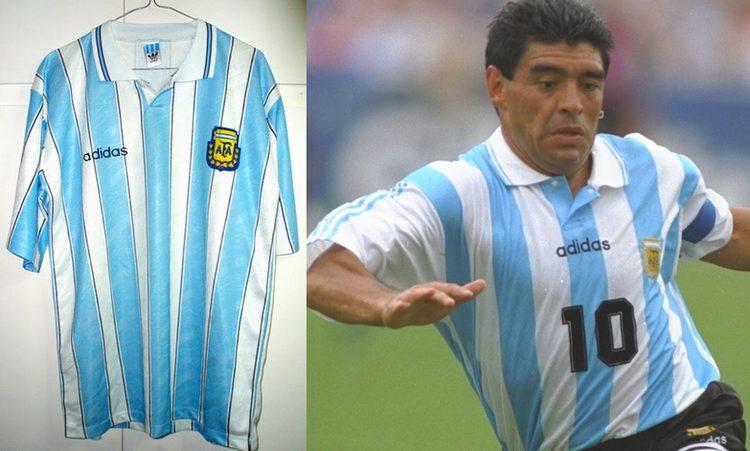 Placard  la camiseta no oficial de Argentina (1994-1995)  aef080cc0ef00