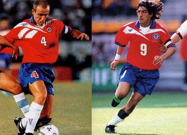 Placard  la camiseta de Chile que no quería la FIFA  62d1dd0038b85