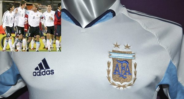 Fuera de stock  la camiseta blanca de Argentina  36ed4da23b3