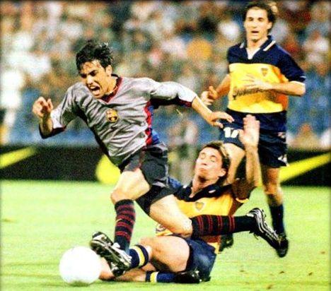 barcelona boca 1999