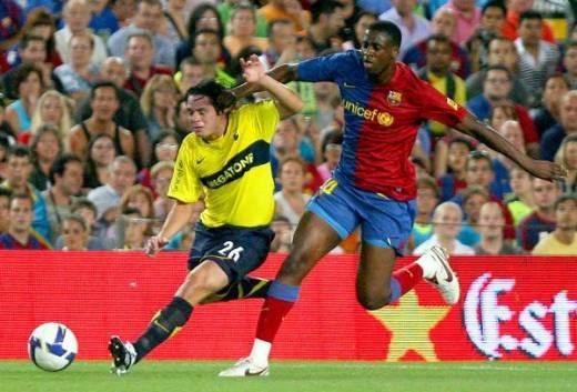 barcelona boca 2008