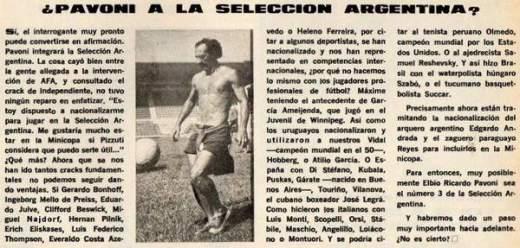 El Gráfico. Edición Nº 2733. 22 de Febrero de 1972.