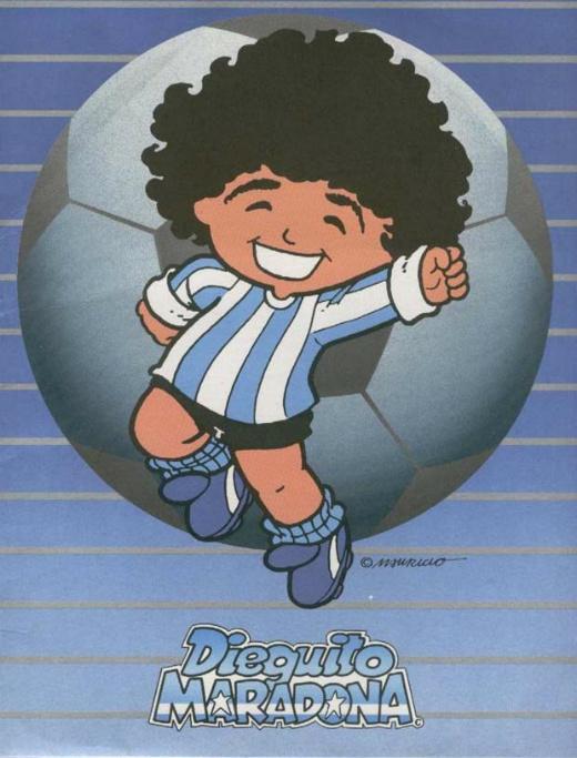Portadas de cómics Dieguito-maradona