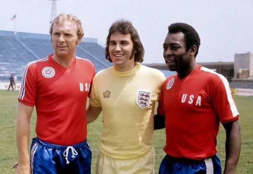 Soccer - American Bicentennial Cup - Team America v England